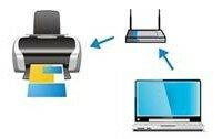 Схема подключения принтера к ноутбуку через WiFi