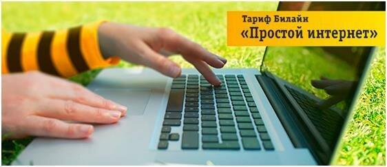 "Тариф ""Простой интернет"" от Билайна"