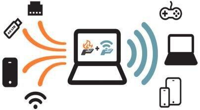 Раздача WiFi с ноутбука