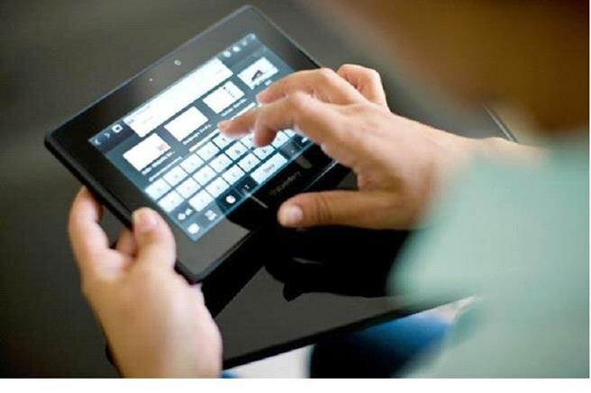 Виртуальная клавиатура на планшете